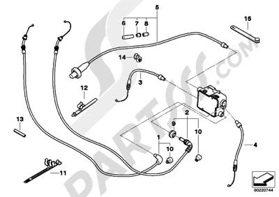 Sezionamenti di ricambi Bmw R1200RT 2005-2009 (K26