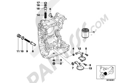 Bmw R1200RT 2005-2009 (K26). 分解図 純正部品をオンライン購入