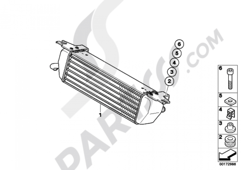 OIL COOLER Bmw R1200RT 2010-2013 (K26)