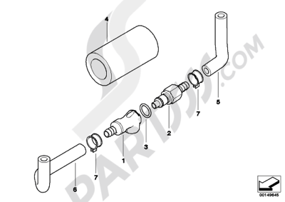 Bmw R1200ST R1200ST (K28). 分解図 純正部品をオンライン購入