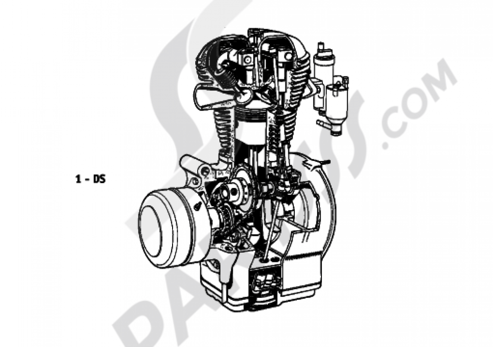 SHORT ENGINE Bmw R26 R26 (T26)