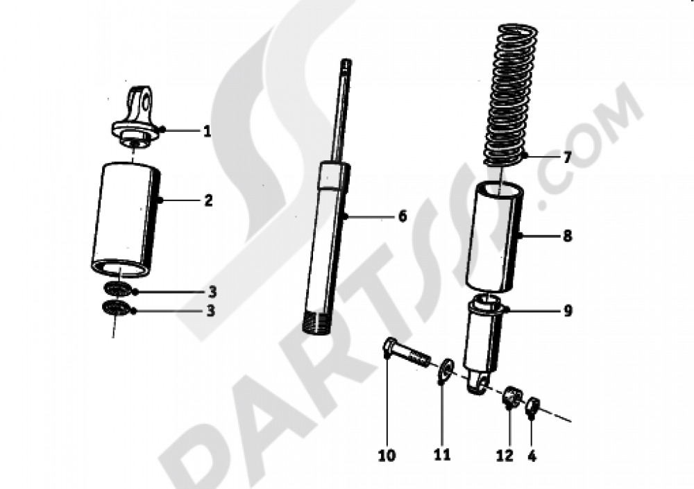 FORK SUSPENSION Bmw R27 R27 (T27)