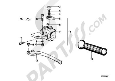 Sezionamenti di ricambi Bmw R45T R45T (248). Compra on