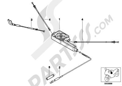Sezionamenti di ricambi Bmw R850R R850R (259R). Compra on