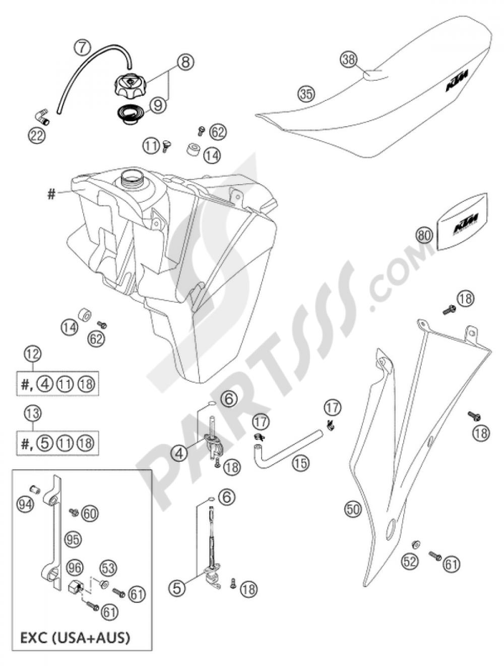 hight resolution of 2003 ktm 125 sx wiring diagram wiring schematic diagram 190 wiring diagram 2003 ktm 125sx
