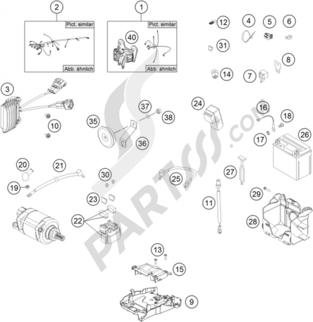 medium resolution of ktm motorcycle250 exc f wiring harness 1000 png