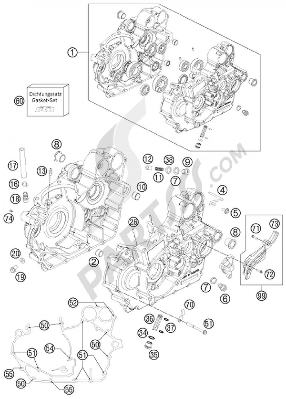 hight resolution of ktm 525 engine diagram