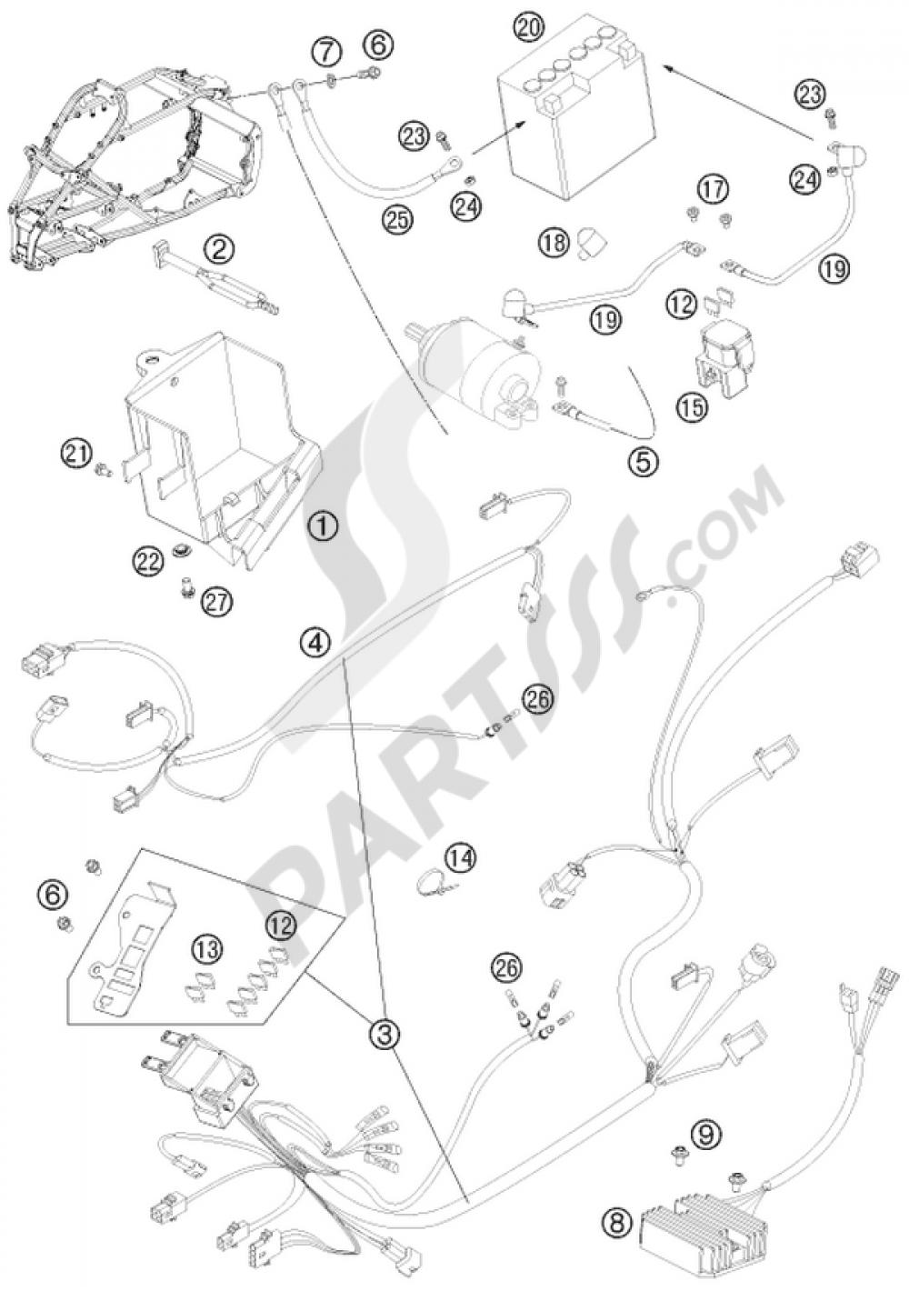 medium resolution of ktm motorcycle525 xc atv wiring harness 1000 png
