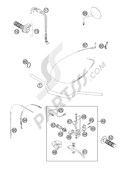CARBORATOR MIKUNI BST 640 LC4 KTM 640 ADVENTURE-R 2002 EU