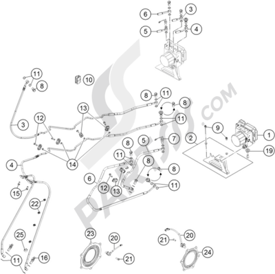 Shaft Drive Motorcycle Engine Fuel Injected Motorcycle