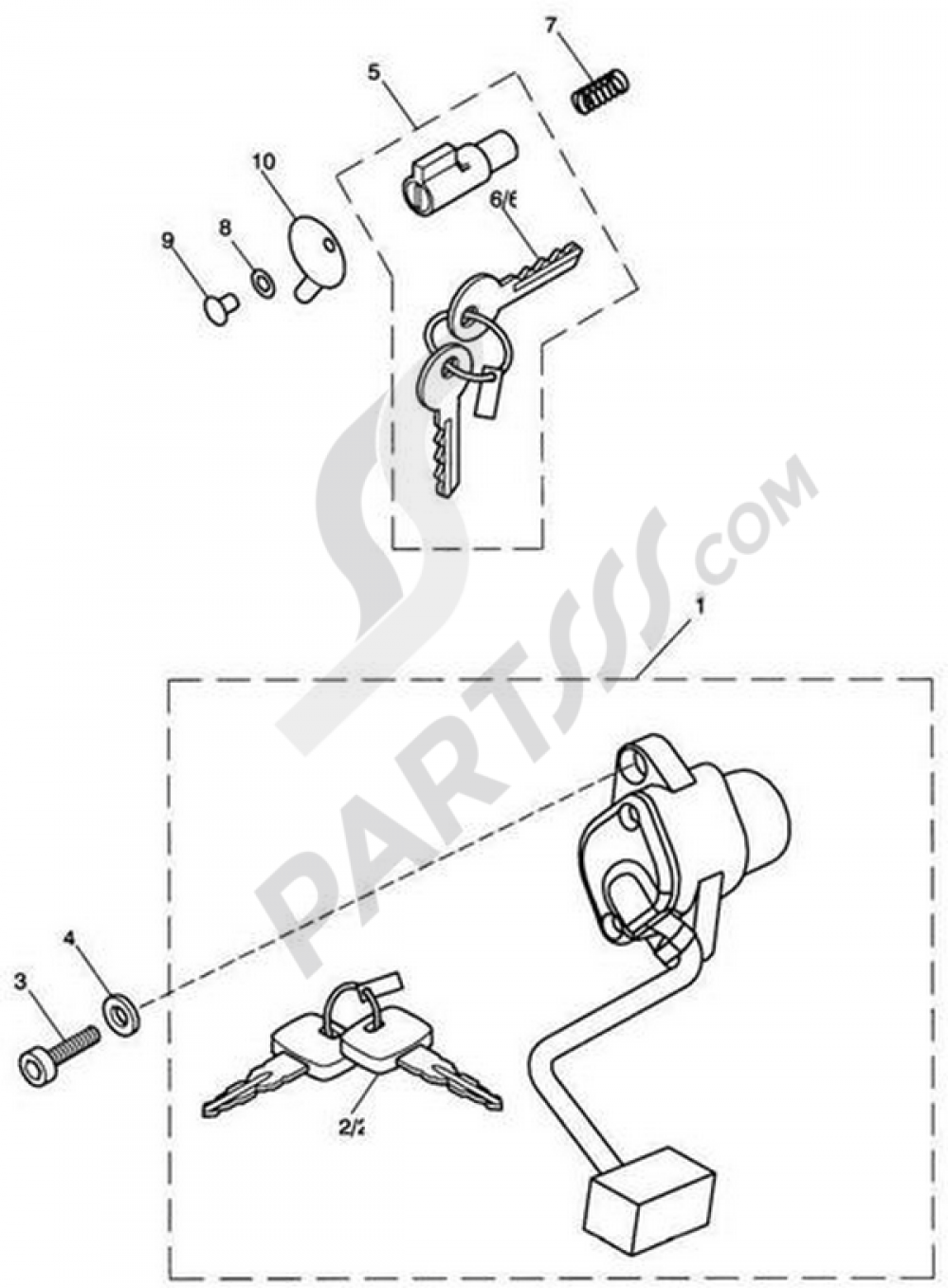 hight resolution of triumphbonneville bonneville t100 carbsignition switch steering lock 1000 png