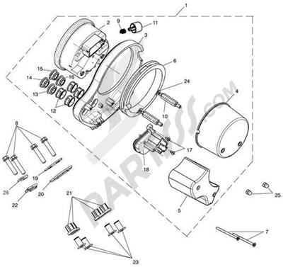 Despiece Triumph BONNEVILLE VIN FROM 380777 & SE