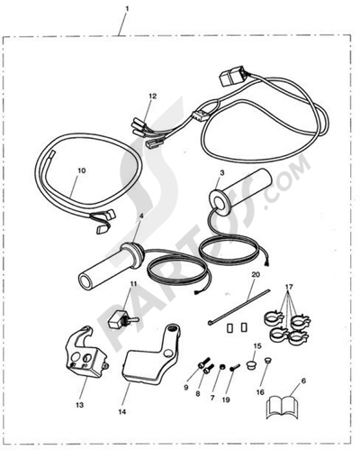 Triumph ROCKET III CLASSIC & ROADSTER Dissassembly sheet