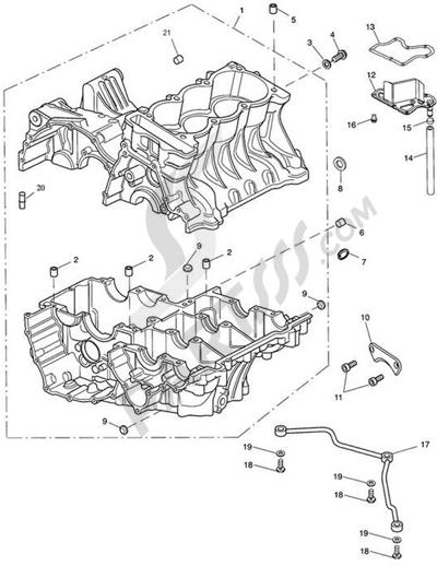 Moteur de recherche des pièces de rechange Triumph :modèle