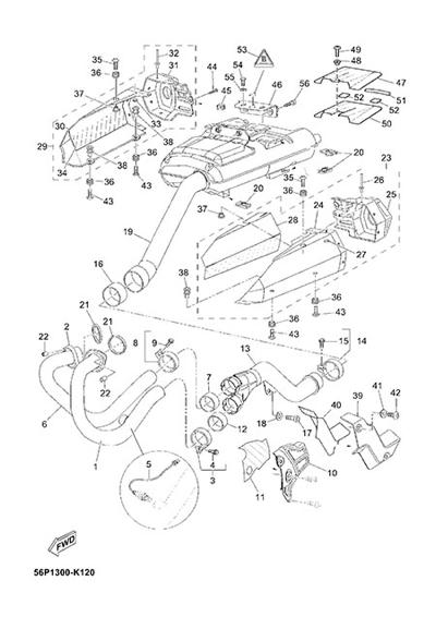 Yamaha XT660Z Tenere ABS 2013 Dissassembly sheet. Purchase
