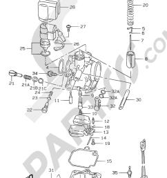 suzuki motorcycle ay50 ay50 y motor transmision 5a carburetor model ay50wr k1 1000 png [ 1000 x 1508 Pixel ]