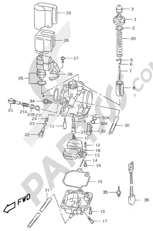 small resolution of suzuki motorcycle ay50 ay50 y motor transmision 5a carburetor model ay50wr k1 1000 png