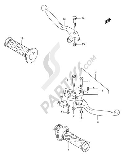 Suzuki GSX-R1100W 1993. 分解図 純正部品をオンライン購入