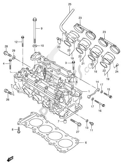 Moteur de recherche des pièces de rechange Suzuki :modèle