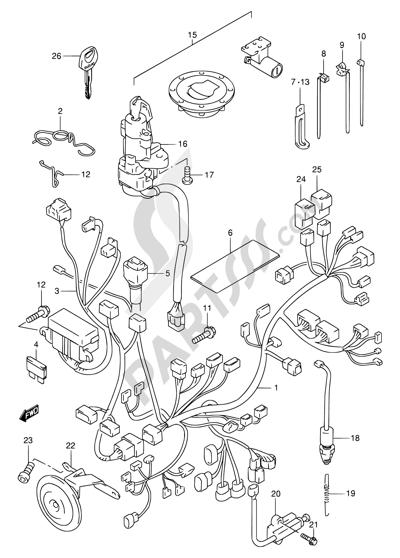 1999 Suzuki Tl1000r Wiring Diagram