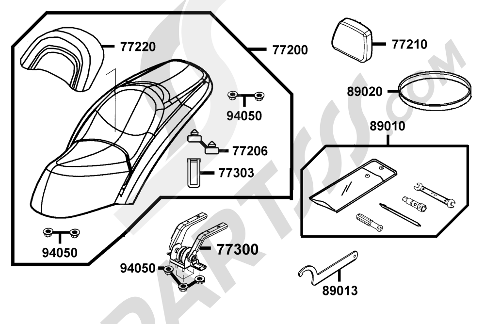 00079 Kymco GRAND-DINK 250 SH50DF