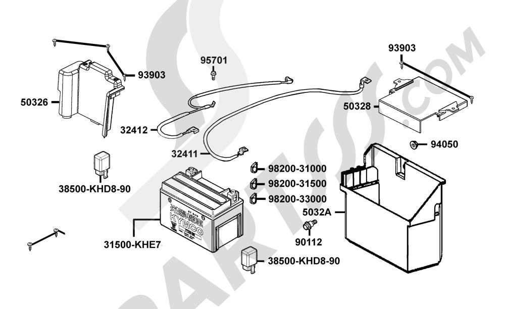 00085 Kymco GRAND-DINK 250 SH50DF