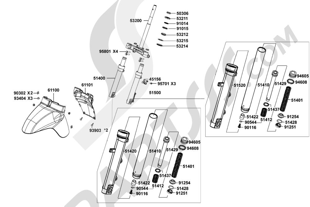 00067 Kymco LIKE-125 KN25AA
