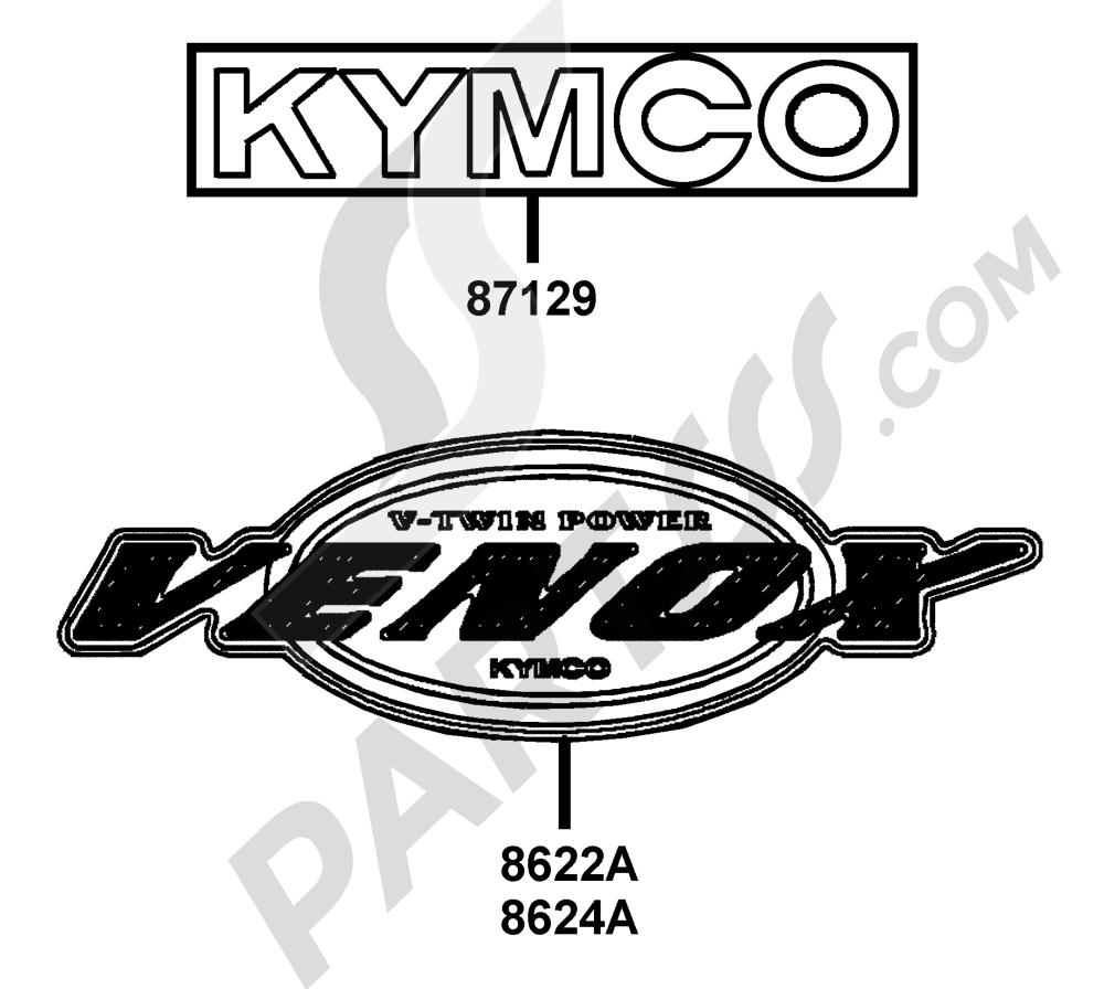 00159 Kymco VENOX-250 RA50AC