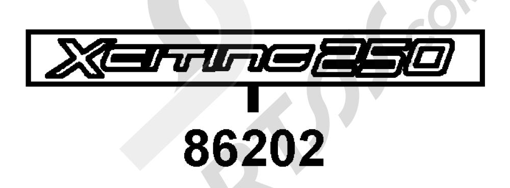 00135 Kymco XCITING-250 SA50AB