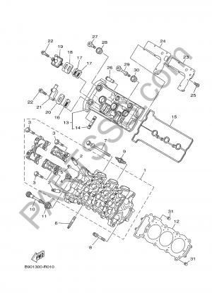 Sezionamenti di ricambi Yamaha MT-09 SP 2018. Compra on