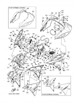 Sezionamenti di ricambi Yamaha MT-09 Tracer 2017. Compra