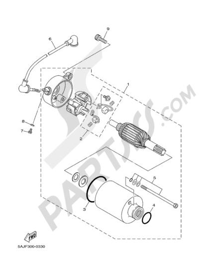 Yamaha VIRAGO XV250 2008 Dissassembly sheet. Purchase