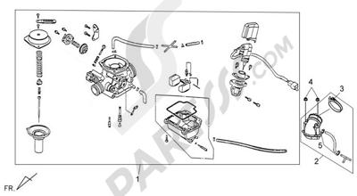 Sym X-PRO PRO 125. 分解図 純正部品をオンライン購入