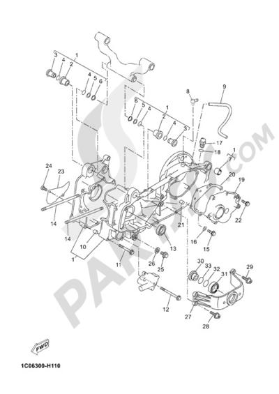 Sezionamenti di ricambi Yamaha X-Max 250 ABS 2012. Compra