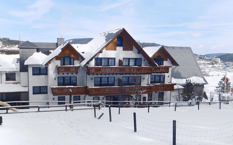 Wintersport kinderen Duitsland  Waldhotel Willingen