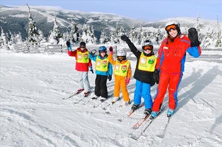 WIntersport met kinderen Tsjechie  Hotel Aquapark
