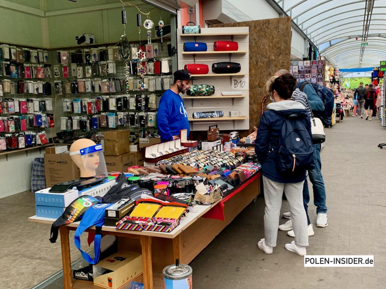 Slubicer Polenmärkte während der Pandemie