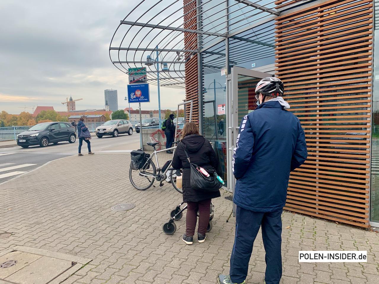 Last-Minute-Shopping in Polen