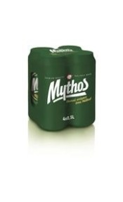 MYTHOS ΜΠΥΡΑ KOYTI 4*500ML