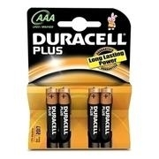 DURACELL PLUS ALC AAA 4T