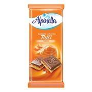 ALPINELLA ΣΟΚΟΛΑΤΑ ΜΕ TOFFEE 100ΓΡ