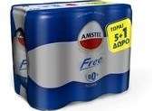 AMSTEL FREE ΚΟΥΤΙ 6*330ML (5+1)Δ