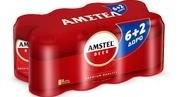 AMSTEL ΚΟΥΤΙ 8*330ML (6+2)Δ