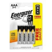 ENERGIZER ΑΛΚΑΛΙΚΕΣ ΜΠΑΤΑΡΙΕΣ POWER AAA 3+1 4T
