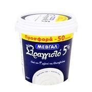 ΜΕΒΓΑΛ ΓΙΑΟΥΡΤΙ ΣΤΡΑΓΓΙΣΤΟ 5% 1Κ (-0.50)Ε