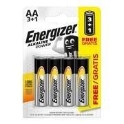 ENERGIZER ΑΛΚΑΛΙΚΕΣ ΜΠΑΤΑΡΙΕΣ POWER AA 3+1 (4T)