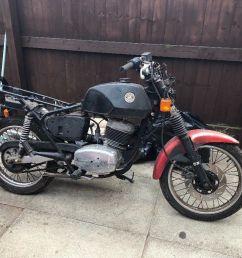 cz 180 motorcycle spares or repair [ 1024 x 768 Pixel ]