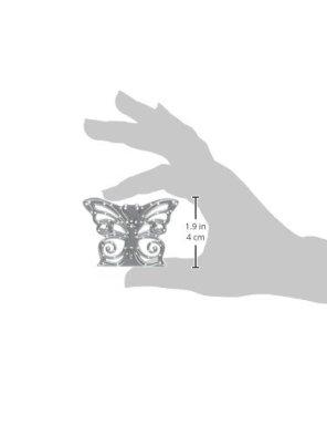 Sizzix 661876 Fustella Thinlits Decorazione Farfalla di David Tutera, Metal,, 17.8x9.3x0.2 cm - 2