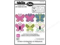 Sizzix Thinlits Dies ~ Butterfly!!! by Sizzix - 1