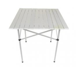 Iso Trade Pieghevole Alluminio Tavolo Alluminio Giardino Campeggio Tavolo #031 - 1